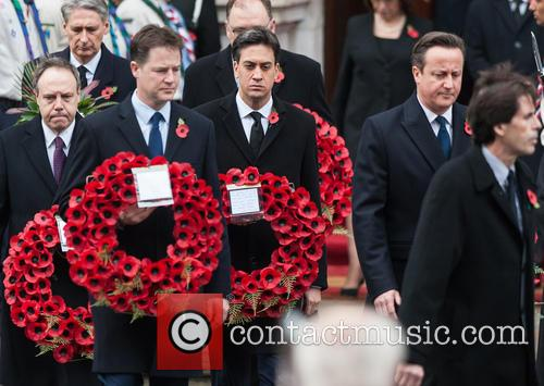 Nick Clegg, David Cameron and Ed Miliband 5