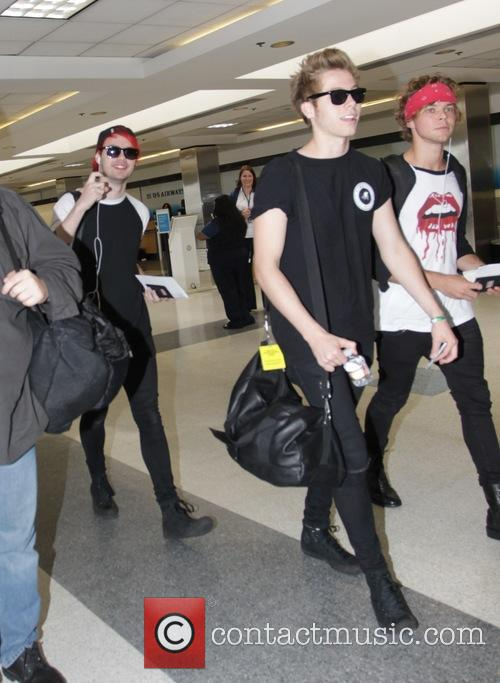 5 Seconds of Summer at Los Angeles International...