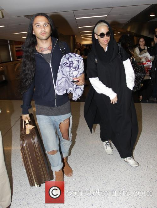 Amber Rose at Los Angeles International Airport (LAX)