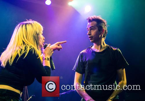 Chantal Claret and Jimmy Urine