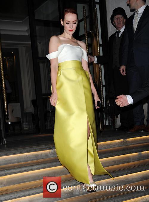 Jena Malone leaves a hotel in London