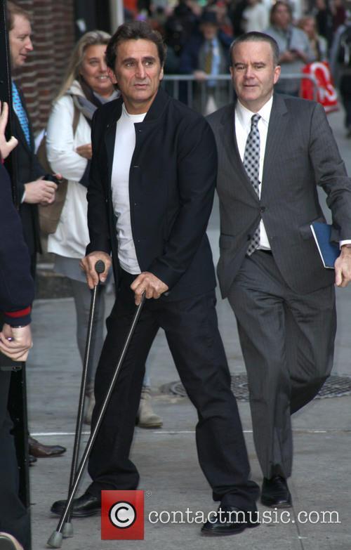 David Letterman and Alex Zanardi 4