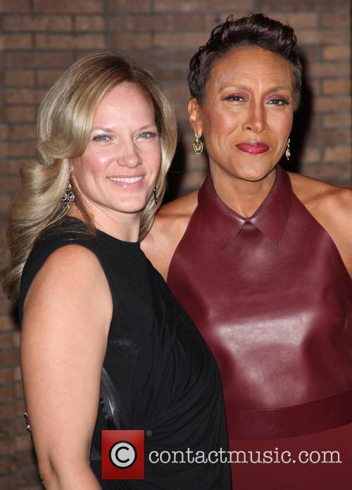 Amber Laign and Robin Roberts 1