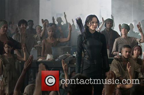 The Hunger Games and Mockingjay Part 1
