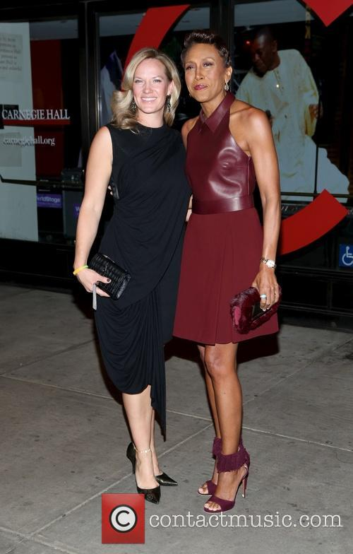 Amber Laign and Robin Roberts 2