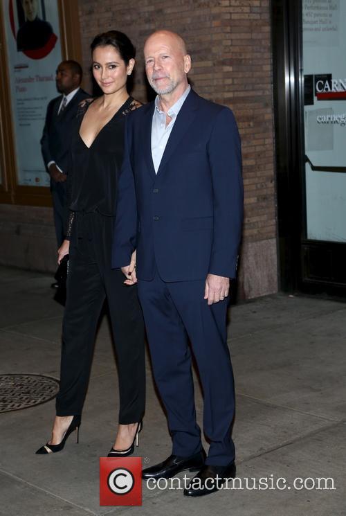 Bruce Willis and Emma Heming 1
