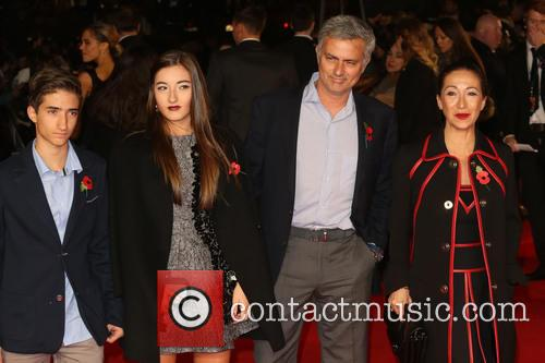 Jose Mourinho, Wife Matilde Faria, Children Matilde Mourinho, Jose Mario and Jr. 2