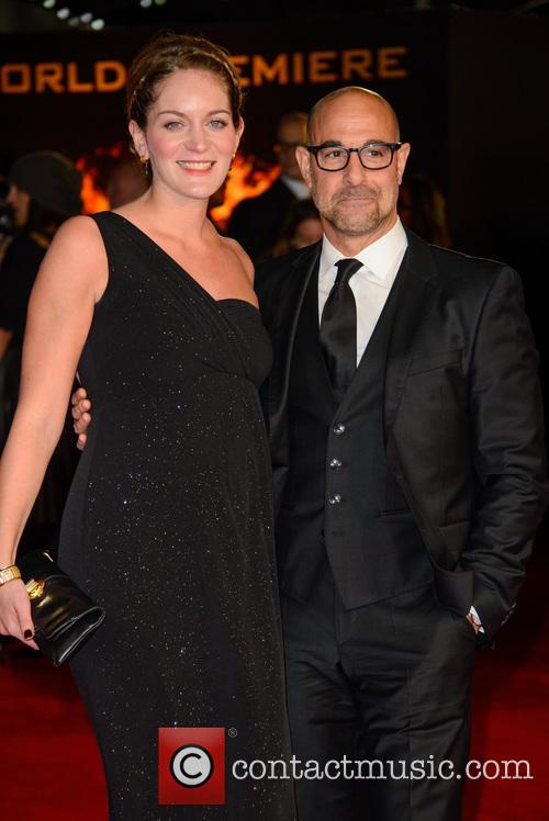 Felicity Blunt and Stanley Tucci 3