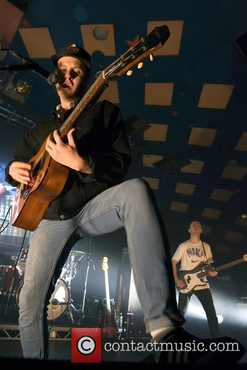 Jamie T performs at the Barrowland Ballroom