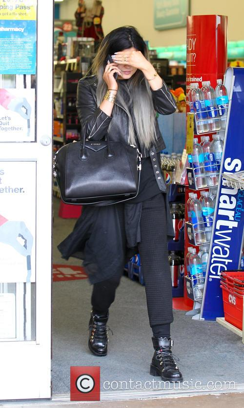 Kylie Jenner shops at CVS Pharmacy