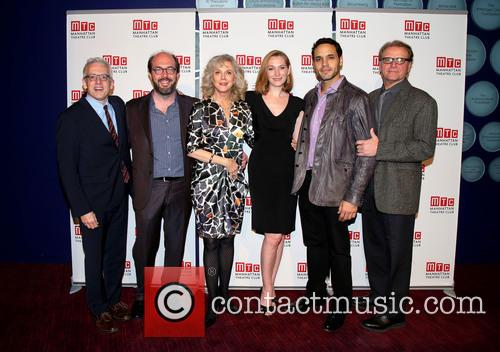 Donald Margulies, Eric Lange, Blythe Danner, Kate Jennings Grant, Daniel Sunjata and David Rasche