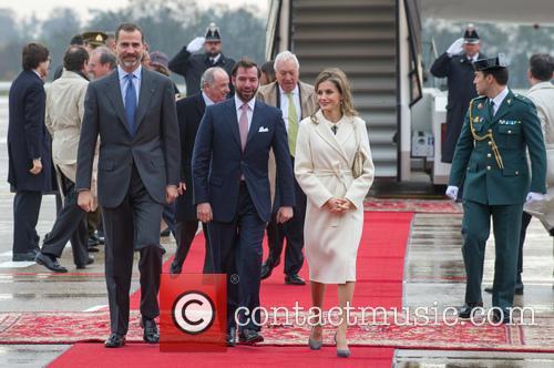 King Felipe Vi, Queen Letizia Of Spain and Prince Guillaume 5