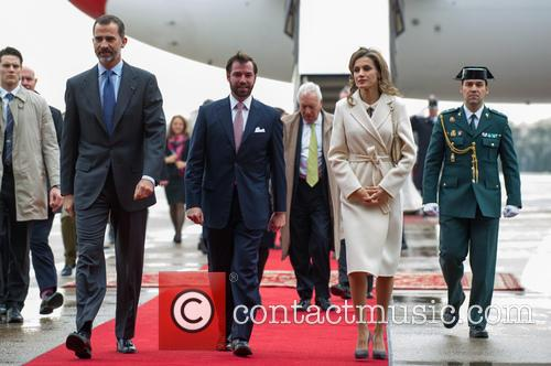 King Felipe Vi, Queen Letizia Of Spain and Prince Guillaume 6