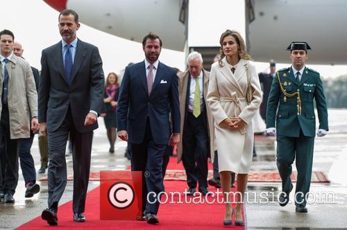 King Felipe Vi, Queen Letizia Of Spain and Prince Guillaume 6