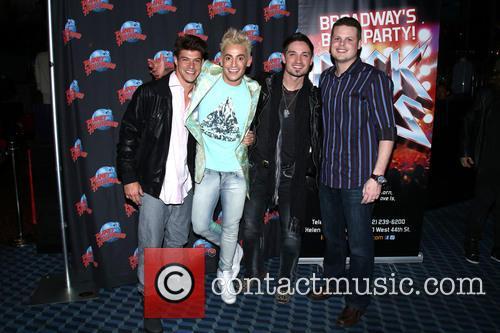Frankie J, Zach Rance, Caleb Reynolds and Derrick Levasseur 9