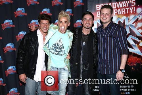 Frankie J, Zach Rance, Caleb Reynolds and Derrick Levasseur 11