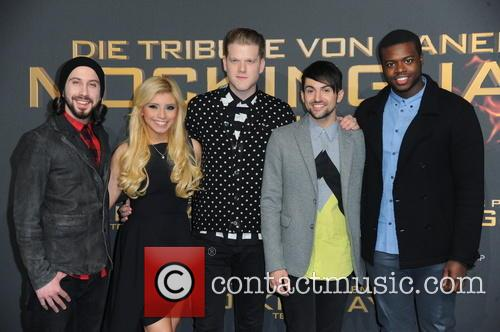 Pentatonix - German premiere of 'The Hunger Games