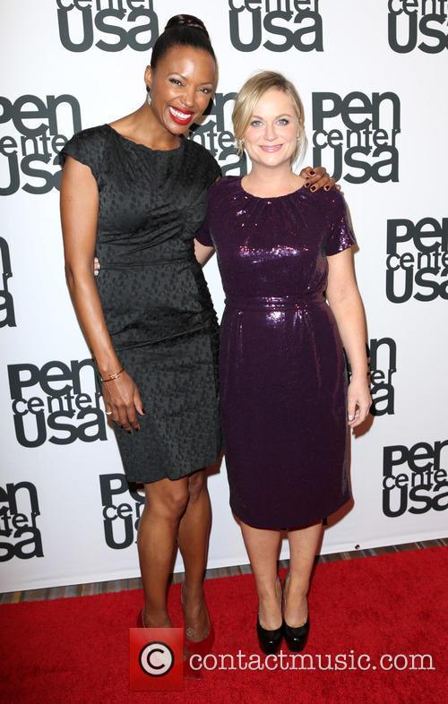 Aisha Tyler and Amy Poehler 3