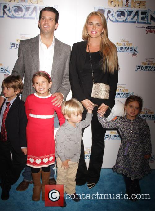 Donald Trump Jr., Vanessa Trump and Kids 2