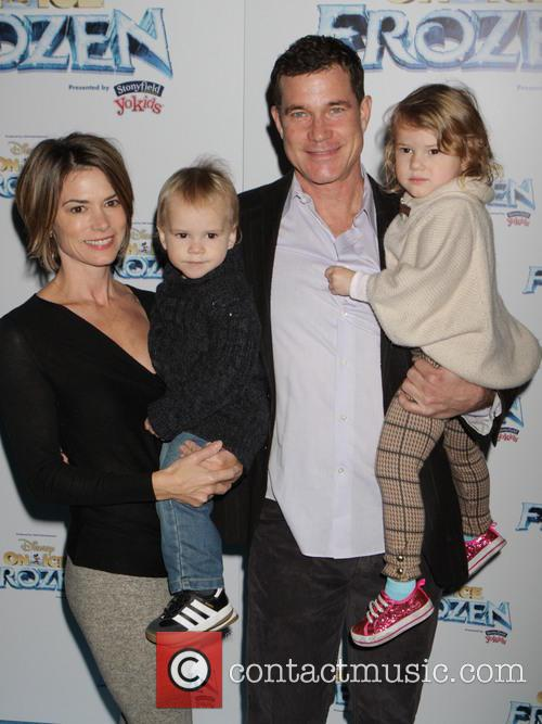Dylan Walsh, Leslie Bourque and Kids