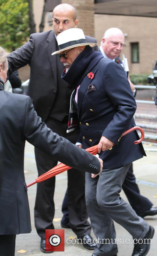 Gary Glitter leaves Southwark Crown Court