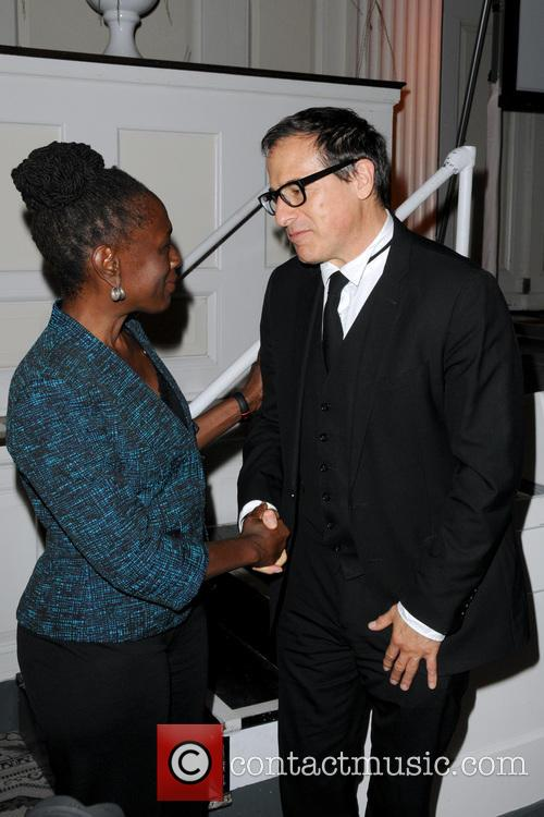 Chirlane Mccray and David O. Russell 2