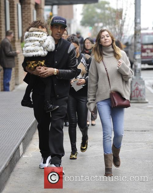 Ellen Pompeo, Chris Ivery and Stella Pompeo Ivery 5
