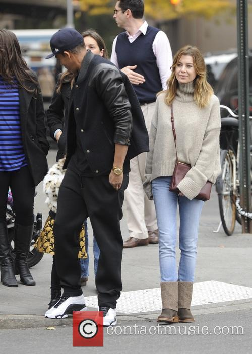 Ellen Pompeo, Chris Ivery and Stella Pompeo Ivery 7