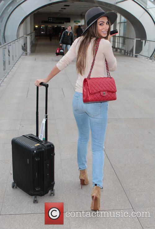 Model Georgia Salpa at Dublin Airport