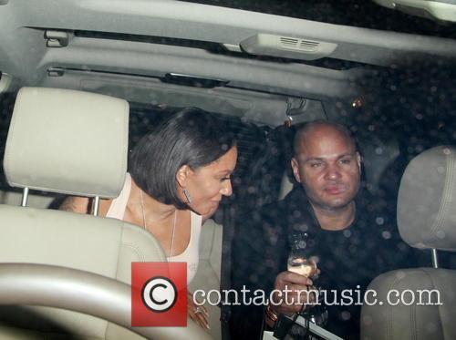 Mel B, Melanie Brown and Stephen Belafonte 6