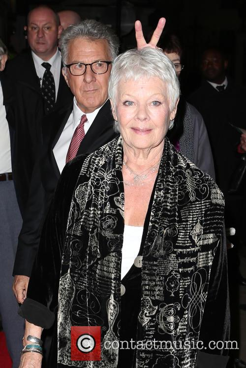 Dame Judi Dench and Dustin Hoffman 5