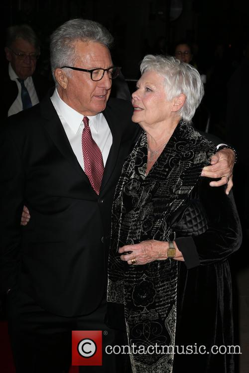 Dustin Hoffman and Dame Judi Dench
