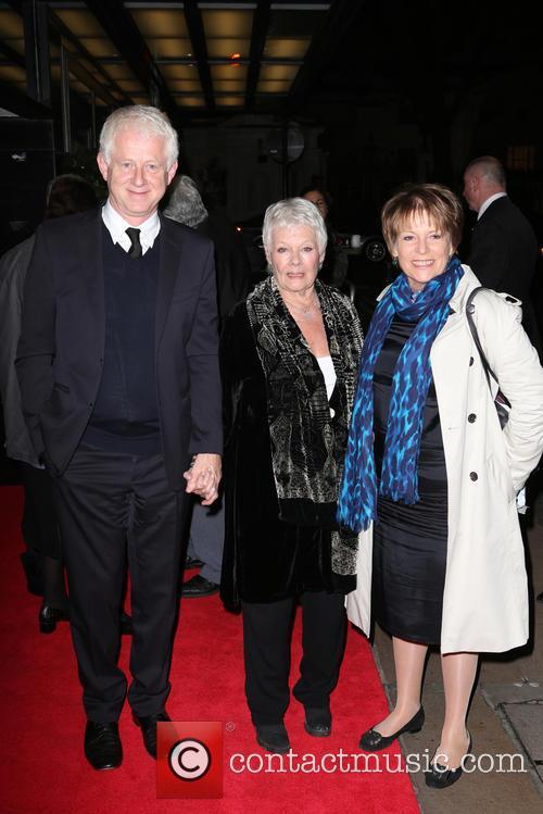 Richard Curtis and Dame Judi Dench 2