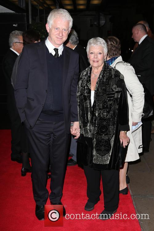 Richard Curtis and Dame Judi Dench 3