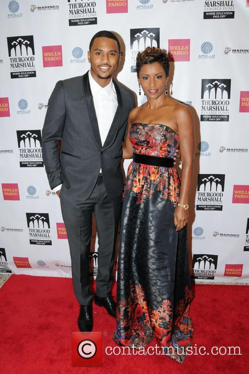 Trey Songz and April Tucker 1