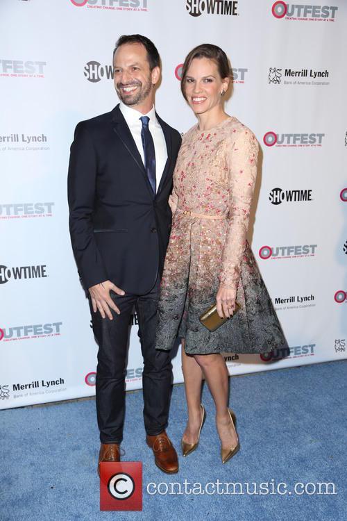 Ari Karpel and Hilary Swank 2