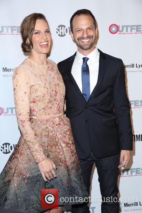 Ari Karpel and Hilary Swank 1