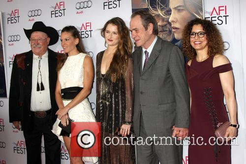 Barry Corbin, Hilary Swank, Grace Gummer, Tommy Lee Jones and Dawn Laurel-jones