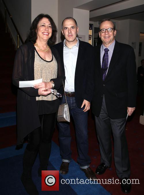 Lynne Meadow, David Auburn and Barry Grove