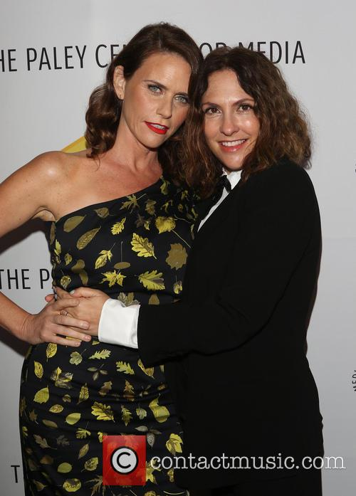 Amy Landecker and Jill Soloway