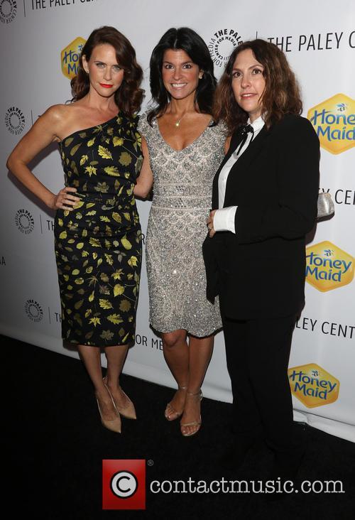 Amy Landecker, Maureen J. Reidy and Jill Soloway 2