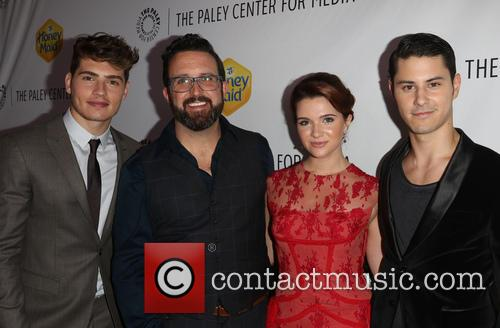 Greg Sulkin, Carter Covington, Katie Stevens and Michael J. Willett 7