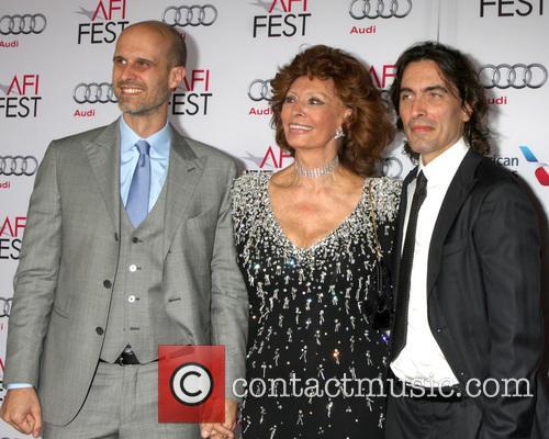 Edoardo Ponti, Sophia Loren and Carlo Ponti 3