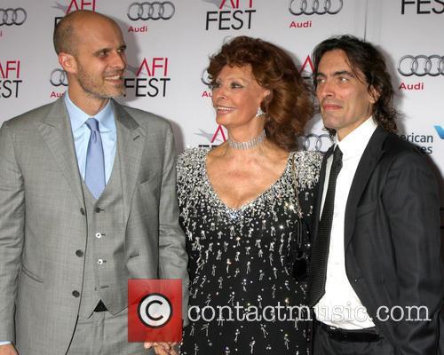 Edoardo Ponti, Sophia Loren and Carlo Ponti 1