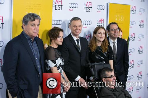 Tom Bernard, Kristen Stewart, Wash Westmoreland, Julianne Moore, Michael Barker and Richard Glatzer 1