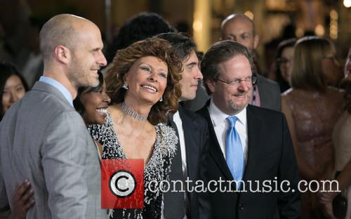Edoardo Ponti, Sophia Loren and Guest 3