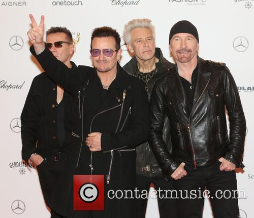 Adam Clayton, Bono, The Edge, Larry Mullen Junior and U2 2