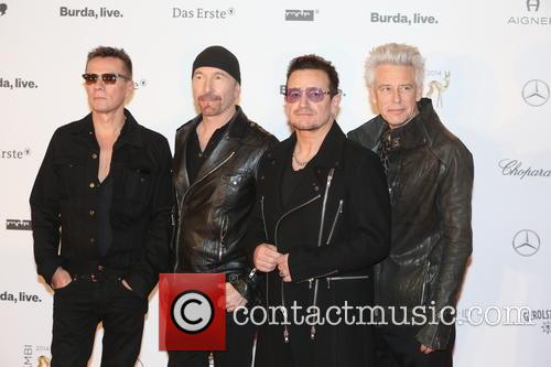 Adam Clayton, Bono, The Edge, Larry Mullen Junior and U2 3