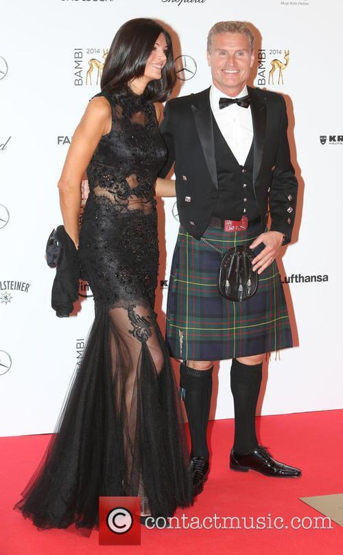 Karen Minier and David Coulthard 2