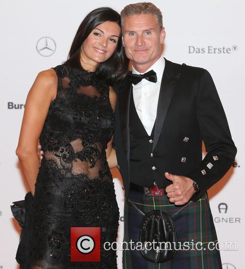 Karen Minier and David Coulthard 1